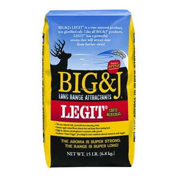 Picture of Big&J Big & J Industries Legit Mineral Mix 15Lb Bag