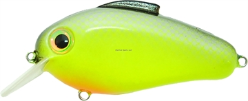 """Picture of Bill Lewis Echo 1.75 Crankbait, 3"""", 5/8 Oz, Chartreuse Shiner, Floating"""