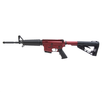"Picture of Black Forge Tactical Yth Ar15 5.56/16"" Red"