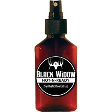 Picture of Black Widow Widow Deer Lures 3 Oz. Hot-N-Ready Synth Doe Estrus