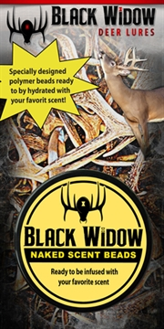 Picture of Black Widow Widow Deer Lures Naked Scent Beads 2 Ounces