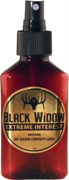 Picture of Black Widow Widow Deer Lures Northern Extreme Interest 3 OZ