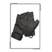 Picture of Blackhawk S.O.L.A.G Half-Finger Gloves Black Large