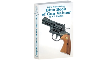 Picture of Blue Book OF Gun Values 38Th Edition Blue Book OF Gun Values