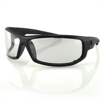 Picture of Bobster Axl Sunglasses-Black Frame-Anti-Fog Clear Lens