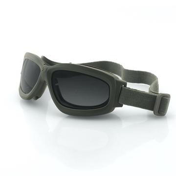 Picture of Bobster Bravo 2 Ballistic Goggle-Grn Frame-3 Anti-Fog Lenses