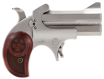 "Picture of Bond Arms Bacd Cowboy Defender Derringer Single 45 Colt (Lc)/410 Gauge 3"" 2 Round Stainless"