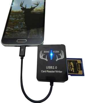Picture of Bone View SD Card Reader For Android Professional Edition