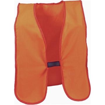 Picture of Breaux Blaze Orange Vest Arctic Fleece M/L