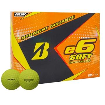 Picture of Bridgestone 2017 E6 Soft Golf Balls - Dozen Yellow