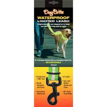 Picture of Brite Companies Companies Dog Brite Grn Waterproof Lighted Dog Leash