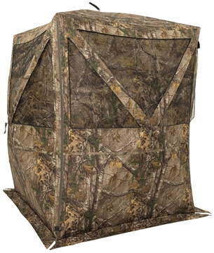 "Picture of Browning 5957405 Powerhouse  Ground Blind 600D Polyester Realtree Xtra 59"" W X 59"" D X 82"" H"