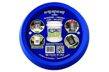 Picture of Bucket Grip No-Slip Bucket Holder, Blue