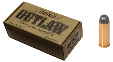 Picture of Buffalo Cartridge Bcc00017 Outlaw 45 Colt (Lc) 200 GR Lead Round Nose Flat Point
