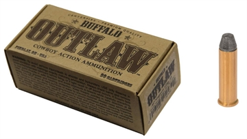 Picture of Buffalo Cartridge Bcc00023 Outlaw 357 Magnum 125 GR Lead Round Nose Flat Point 5
