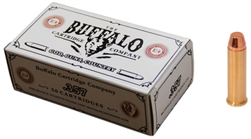 Picture of Buffalo Cartridge CO Cartr Ammo .357 Magnum 158Gr. Fmj FP 50-Pack