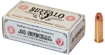 Picture of Buffalo Cartridge CO Cartr Ammo .38 Special 125Gr. Fmj FP 50-Pack