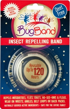 Picture of Bug Band Insect Repellent Wristband Glow, Deet-Free, Reusable 120Hrs