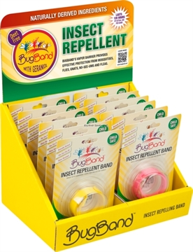 Picture of Bug Band Insect Repellent Wristband Counter Display 12Pc