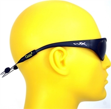 """Picture of Cablz Adjustable Eyewear Holder 14"""" Blk SS"""