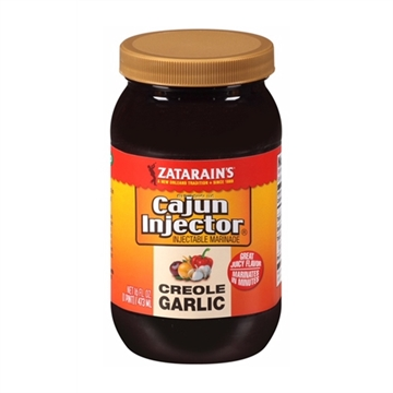 Picture of Cajun Injector Creole Garlic Injectable Marinade Refill, 16 FL OZ