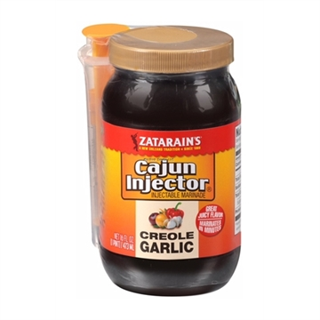 Picture of Cajun Injector Creole Garlic Injectable Marinade W/Injector, 16 FL OZ
