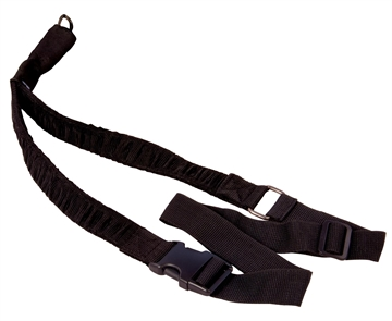 Picture of Caldwell 156215 Single Point Tactical Sling Heavy Duty Nylon Adjustable Black