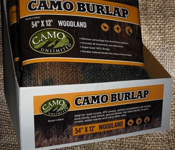 Picture of Camo Unlimited 9540 Camo Burlap