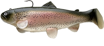 """Picture of Castaic Boot Tail Swim Bait, 4"""", Trout"""