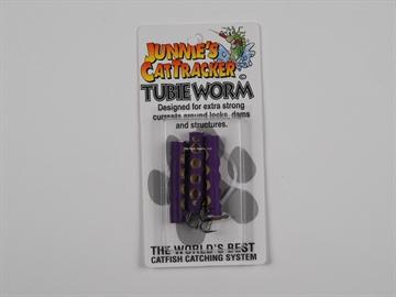 Picture of Cat Tracker Cttu3-Purple Tubie Worm Purple 3/Pk