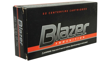 Picture of Blazer 380Acp 95Gr Fmj 50/1000