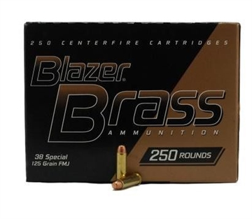 Picture of 38 Spl 125 GR Fmj Blazer Brass (250 CT Value Pack)