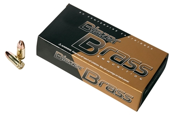 Picture of 380 Auto 95 GR Blazer Brass (200 Rds/Can)