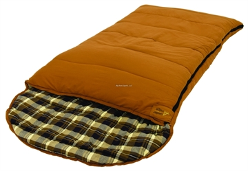 Picture of Cedar Ridge Buckorn Bag 10 Brown Canvas Outer Flannel Liner 39X90