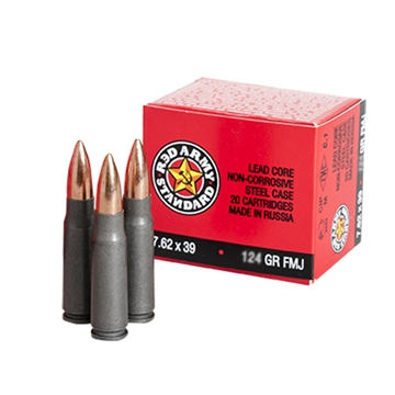 Picture of Cent Arms 7.62X39 124Gr Fmj 20/1000