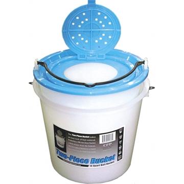 Picture of Challenge Plastics 2Pc 10Qt Bait Bucket