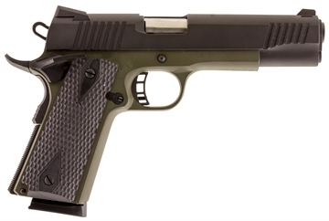 "Picture of Citadel C45fs200190h M-1911 Cerakote Full Size Single 45 Acp 5"" 8+1 Hogue Grip O"