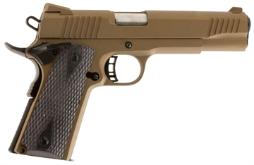 "Picture of Citadel C9mmfs148h00 M-1911 Full Size Single 9Mm 5.0"" 9+1 Hogue Grip Burnt Bronze"
