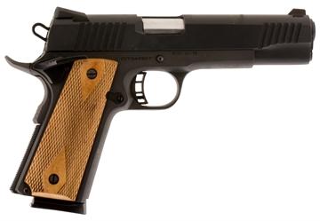 "Picture of Citadel Cit45fsp M-1911 Full Size Sao 45 Acp 5"" 8+1 Wood Grip Black"