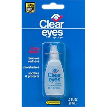 Picture of Clear Eyes Redness Refief Solution - .2 OZ Bottle