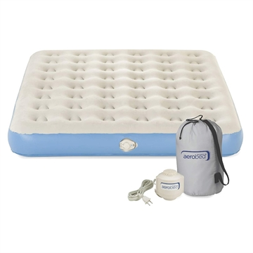 Picture of Aerobed Airbed Queen Single High With 120 Volt Combo