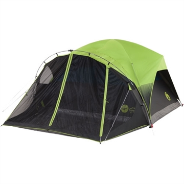 Picture of Coleman Carlsbad Darkroom Dome Tent W/Screen Room 6 Person