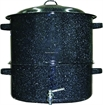 Picture of Columbian Clam/Lobster Steamer 19Qt Blk W/Faucet