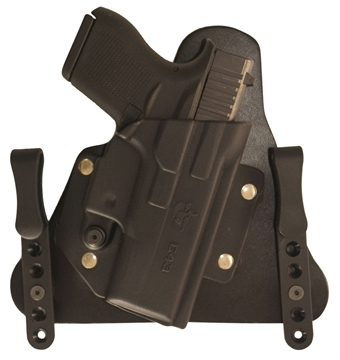 Picture of Comp-Tac  Cavalry Inside The Waistband Compatible With Glock 43 Kydex/Leather Black