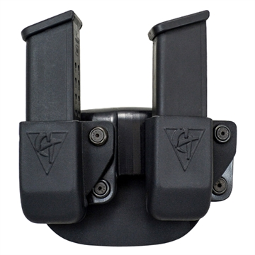 Picture of Comp-Tac  Double Twin Mag Compatible With Glock 9/40/357, .45 Gap Kydex Black