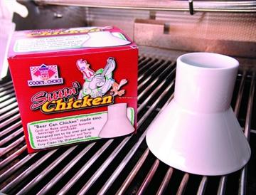 Picture of Cooks Choice Sittin Chicken Premium Beer Can Chicken