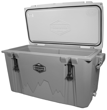 """Picture of Cordova Coolers Cclg86qt 100 Large  86 Quarts 38"""" X 17.75"""" X 18.75"""" Polymer Gray 85 Cans"""
