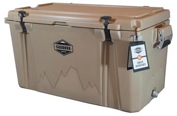 "Picture of Cordova Coolers Cclt86qt 100 Large  86 Quarts 38"" X 17.75"" X 18.75"" Sand Polymer 85 Cans"