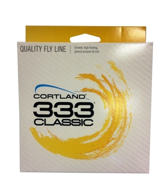 Picture of Cortland 333 Fly Line, Floating, Trout / All-Purpose, Yellow 90 Ft, Wf5f