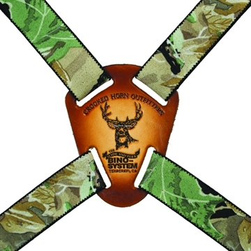 Picture of Crooked Horn Bino System Binocular Harness, Quick Release Hooks Allow For Easy Removal OF The Binoculars Bs-124